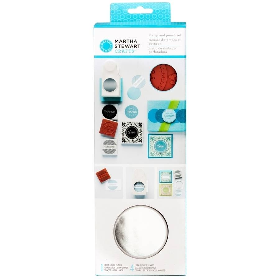 Martha Stewart Stamp and Punch Set