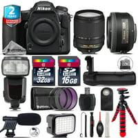 Nikon D500 DSLR + AFS 18-140mm VR + 35mm f/1.8 + LED Kit + Pro Flash + 48GB