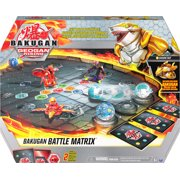 Bakugan Battle Matrix, Deluxe Game Board with Exclusive Gold Sharktar, Kids Toys for Boys Aged 6 and up