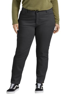 Dickies Women's Plus Perfectly Slimming Skinny Pant