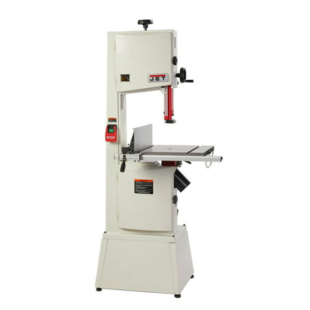 JET 714400K 1.75HP 115/230V 14 in. Steel Frame Bandsaw with 13 in. Resaw Capacity ()