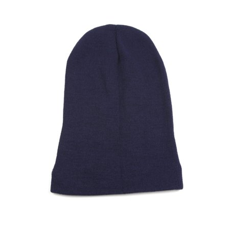 Unisex Solid Color Winter Knit Long Beanie 361HB