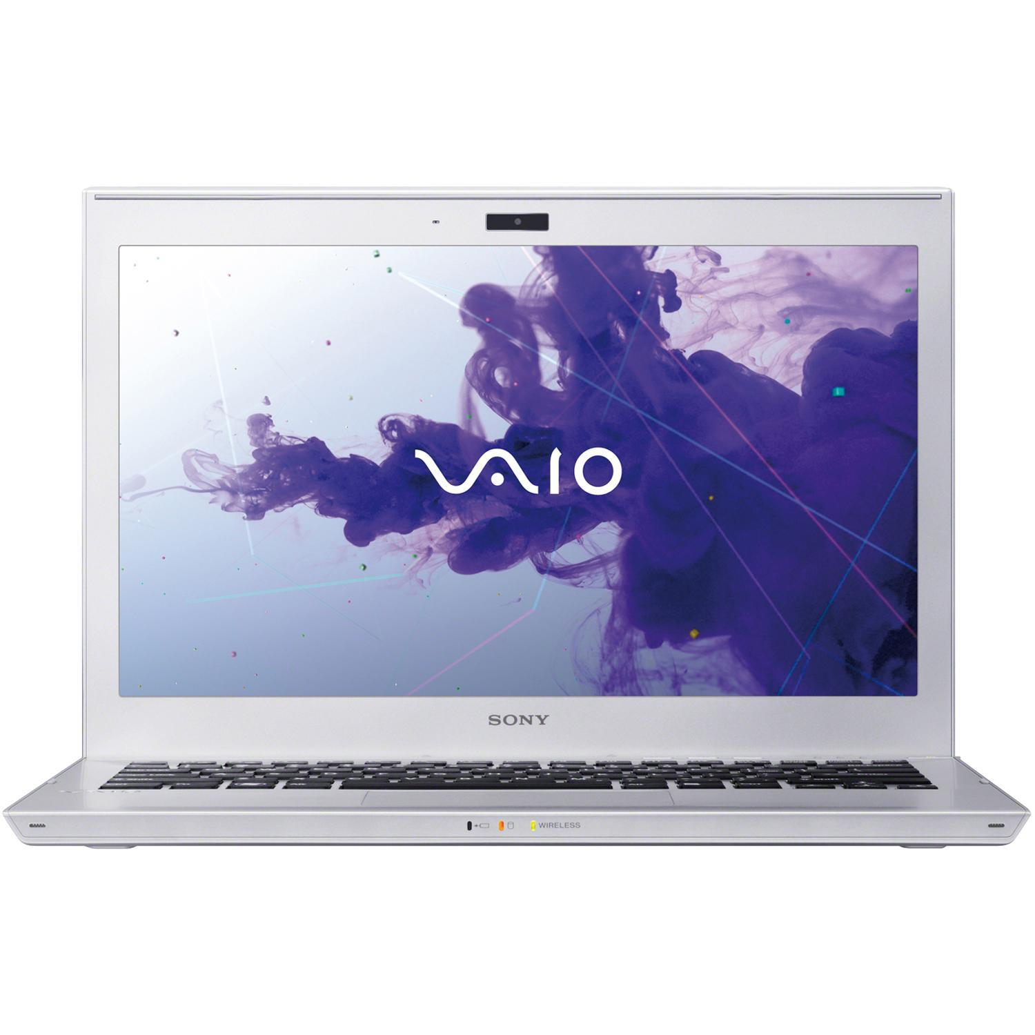 """Sony Ultrabook Touch Silver Mist 13.3"""" VAIO T Series SVT13128CXS with Intel Core i7-3517U Processor and Windows 8 Operating System"""