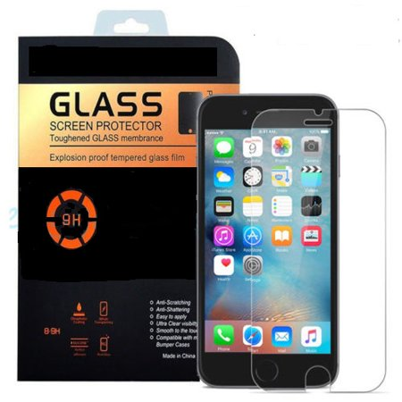 Power Explosion Proof ((2PK) Explosion Proof Tempered Glass Screen Protector 0.26mm 2.5D   iPhone)