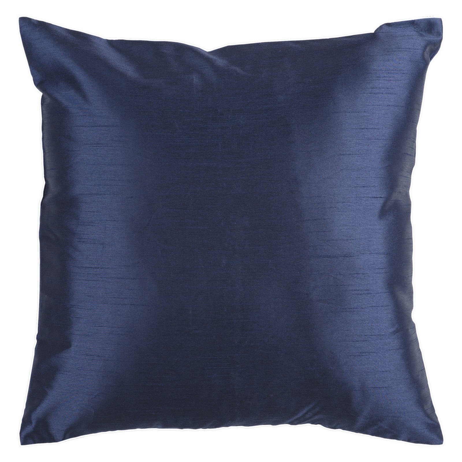 Surya Silk Lane Decorative Pillow - Navy