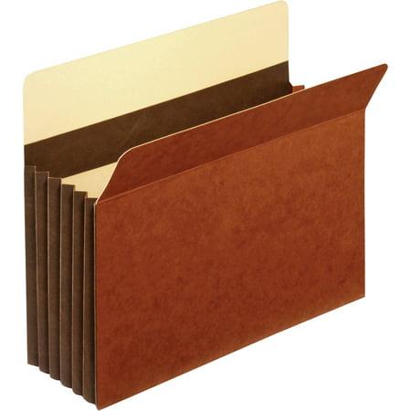 Pendaflex, PFXC1534GHD, Heavy-duty Accordion File Pockets, 10 / Box, Brown