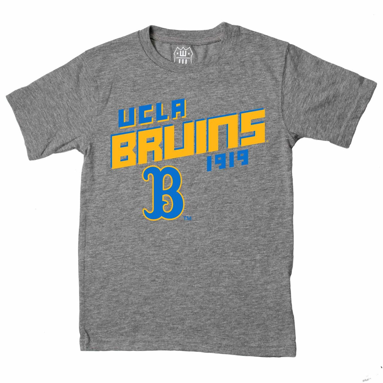 UCLA Bruins Youth NCAA Biggest Fan T-Shirt  - Charcoal
