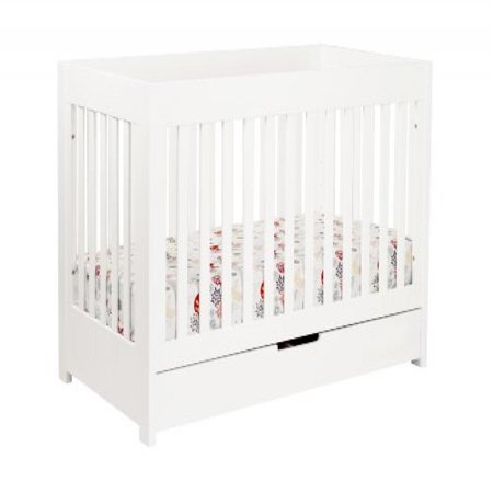 Babyletto Mercer 3 In 1 Convertible Crib With Toddler Rail White