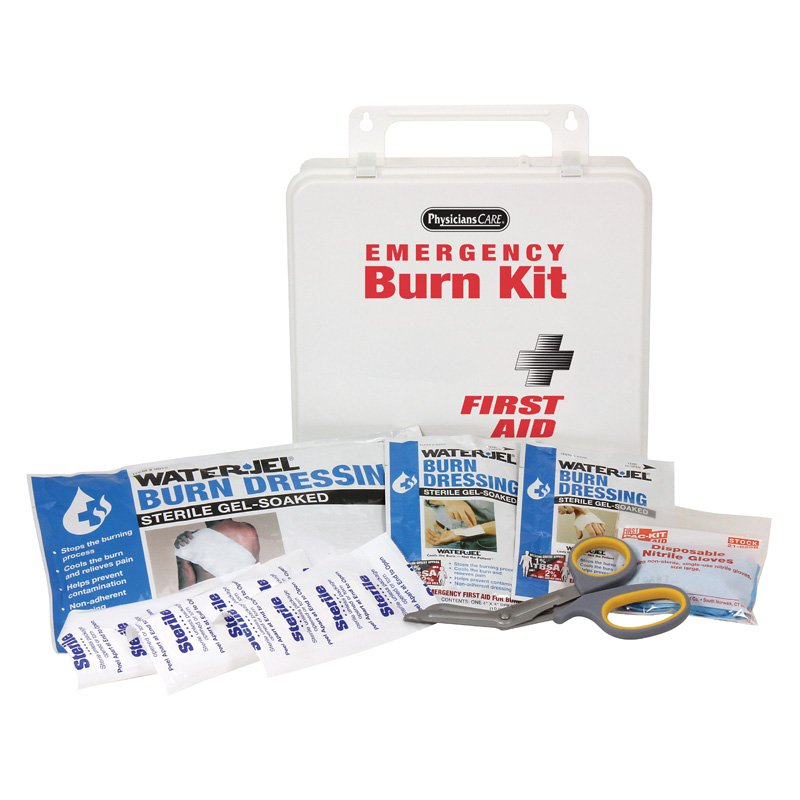Physicians Care Water Jel Burn Kit - 10 Pieces