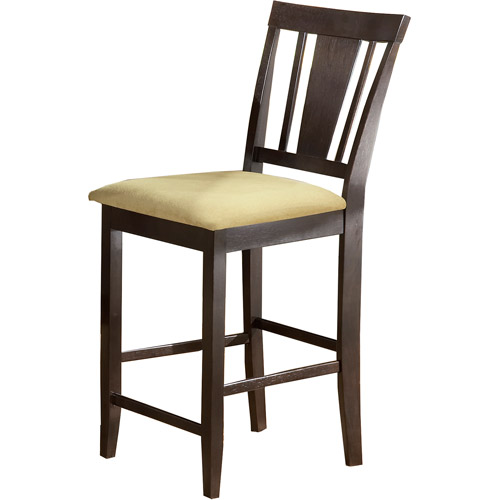 "Hillsdale Furniture Arcadia 39.25"" Non-Swivel Counter Stool, Set of 2, Espresso Finish by Hillsdale Furniture"