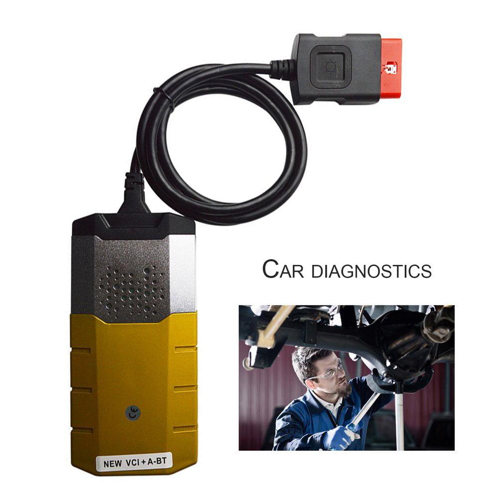 TCS CDP Pro OBD2 Bluetooth Scanner Gold Voltage Check Diagnostic Scanner