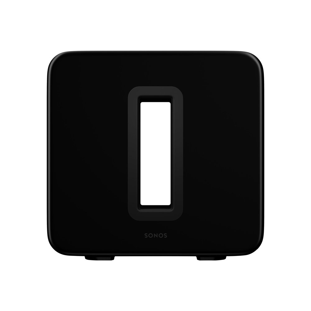 Sonos SUB - Gen 3 - subwoofer - wireless - Ethernet, Fast Ethernet, Wi-Fi - App-controlled - high gloss black