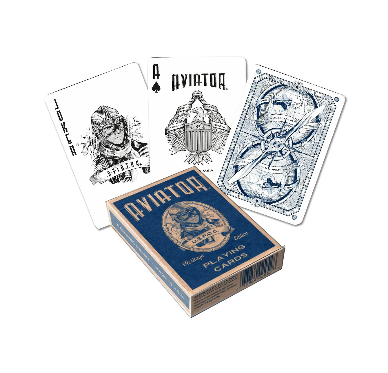 Aviator Heritage Standard Index Specialty Playing Cards