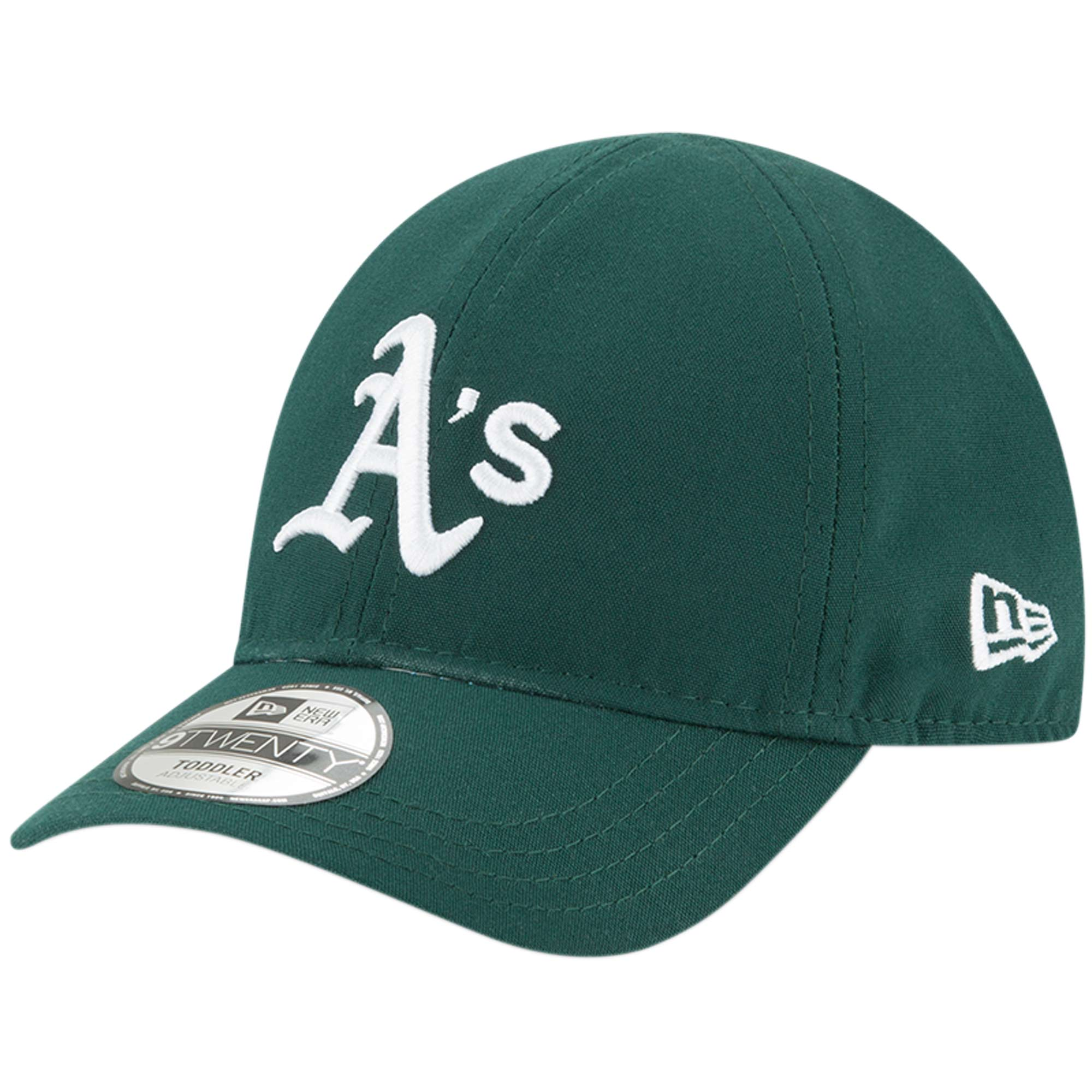 Oakland Athletics New Era Toddler My 1st 9TWENTY Adjustable Hat - Green - OSFA