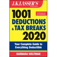 J.K. Lasser: J.K. Lasser's 1001 Deductions and Tax Breaks: Your Complete Guide to Everything Deductible (Paperback)