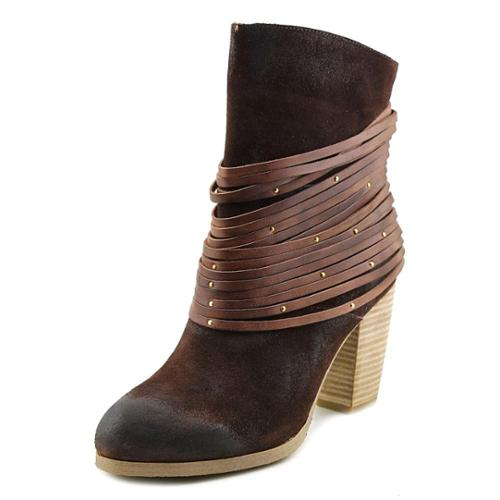 Antelope Bangles Women  Round Toe Suede Brown Mid Calf Boot