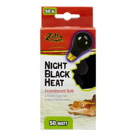 (Zilla Day White Light Reptile & Amphibian Incandescent Bulb, 50 Watt)