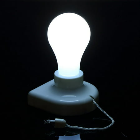 Stick Up Bulb Cordless Battery Operated Light Cabinet Closet Lamp Home Use