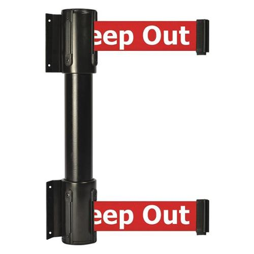 TENSATOR 896T2-33-STD-RHX-C Belt Barrier, Red w/White Text