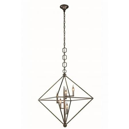 Aegis 5 Light - Elegant Lighting Nora 30