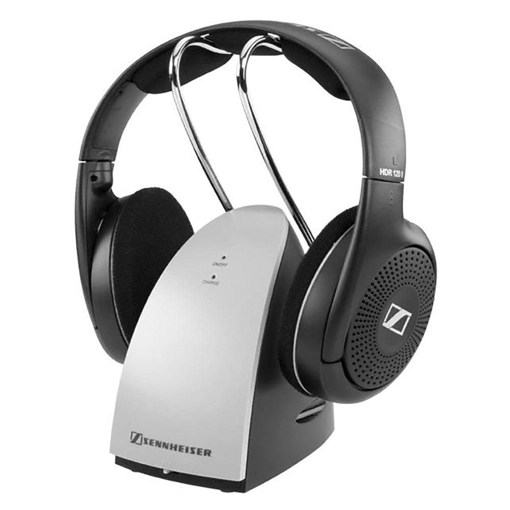 Sennheiser RS 120 Rechargeable Wireless RF Headphones (Certified Refurbished)