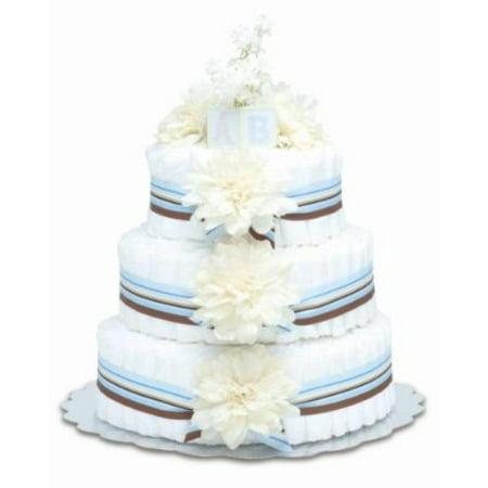 Bloomers couches pour bébés Gâteau à la crème moderne Dahlias 3 niveaux