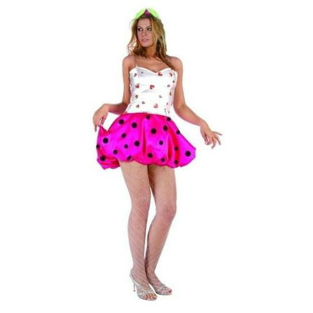 Strawberry Puff Costume - Adult Small