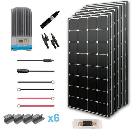 Renogy 600 Watt Mono Solar Panel 12 Volt Off-Grid W/ MPPT 40A 600W Premium  Kit