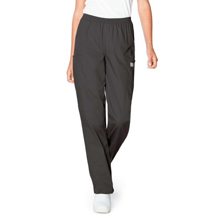 ScrubZone by Landau Women's Elastic Waist Cargo Scrub Pant, Style 83221