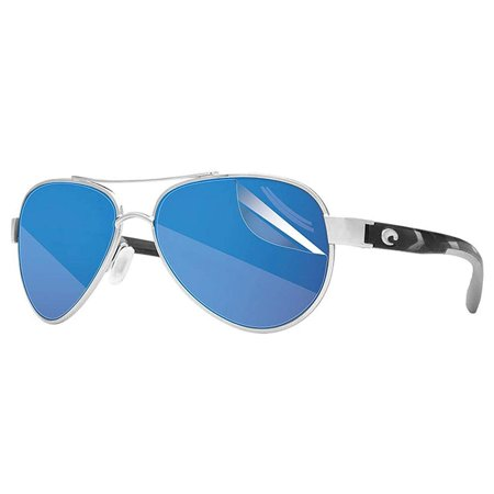 Ripclear Sunglass Protectors for Costa Del Mar Brine Sunglasses - Scratch Proof Crystal Clear - 2 pack Lens (Costa Sunglasses Scratch Repair)