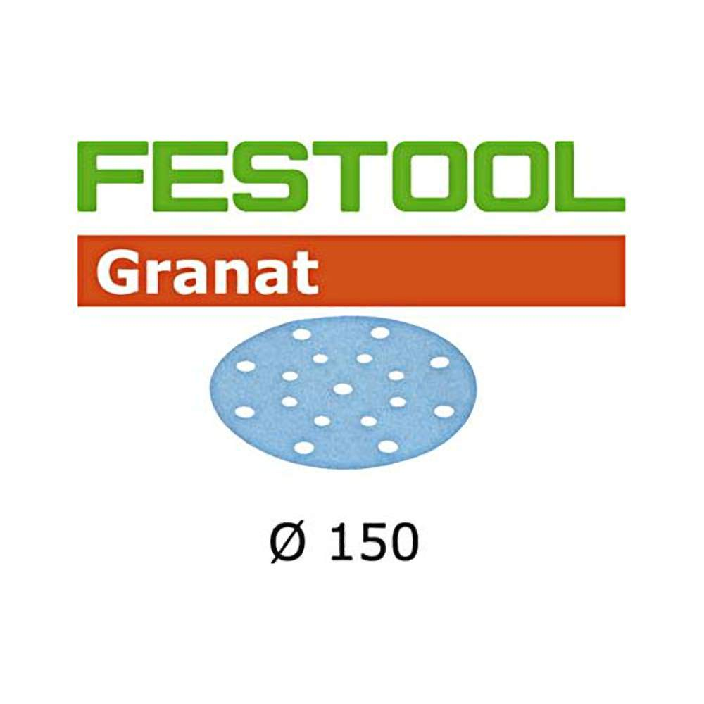 Festool 496983 P240 Grit, Granat Abrasives, Pack Of 100