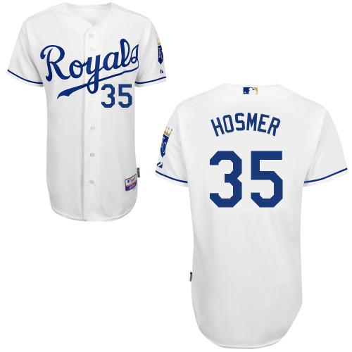 Eric Hosmer Kansas City Royals Majestic 6300 Player Authentic Jersey - White