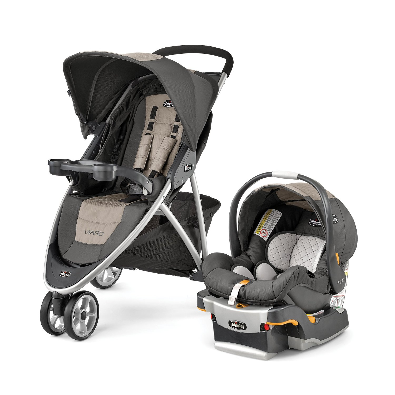 Chicco Viaro Travel System Teak by Chicco