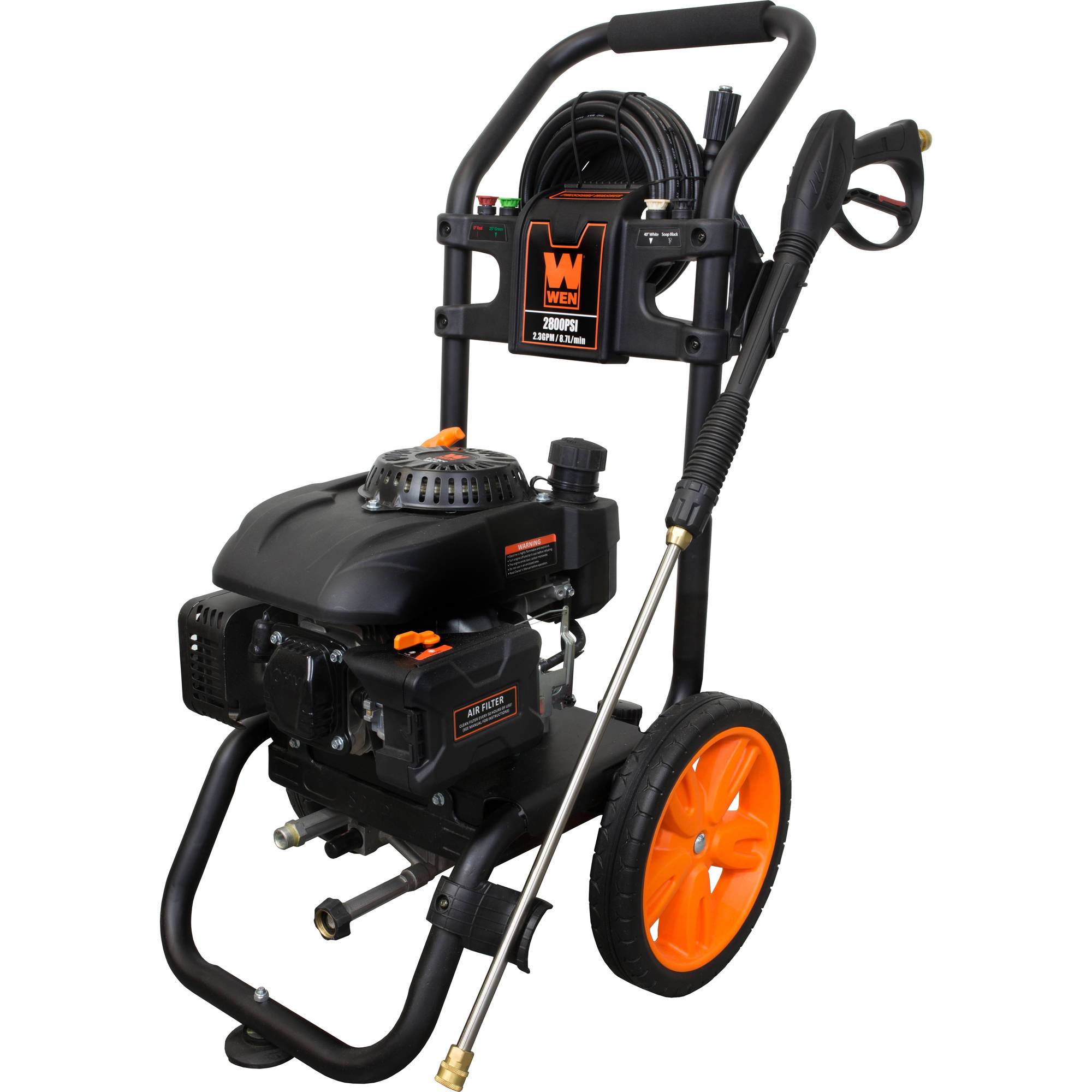 WEN 2800 PSI Gas Pressure Washer, CARB Compliant