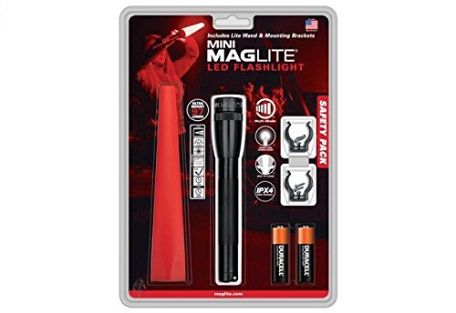 Mag Instruments IP2201G Mini Maglite 2aa Safety Pack by Maglite