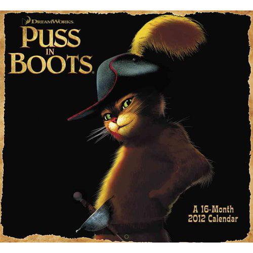 Puss in Boots 2012 Calendar