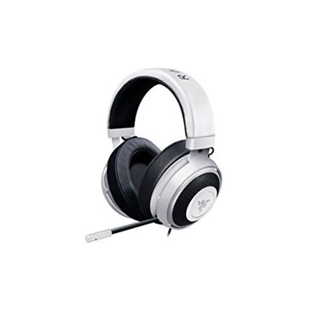 Razer Kraken Pro V2 - Oval Ear Cushions - Analog Gaming Headset for PC, Xbox One and Playstation 4, White (RZ04-02050500-R3U1)