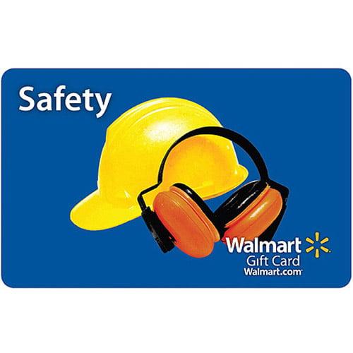 Safety Walmart Gift Card - Walmart.com