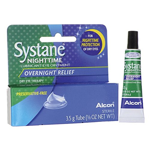 4 Pack - Systane Nighttime Lubricant Eye Ointment 3.50G Each