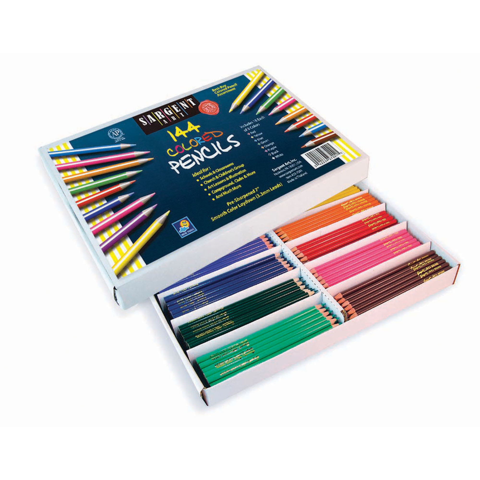 Sargent Art® Colored Pencils, 144 ct. Best Buy Bulk Pack