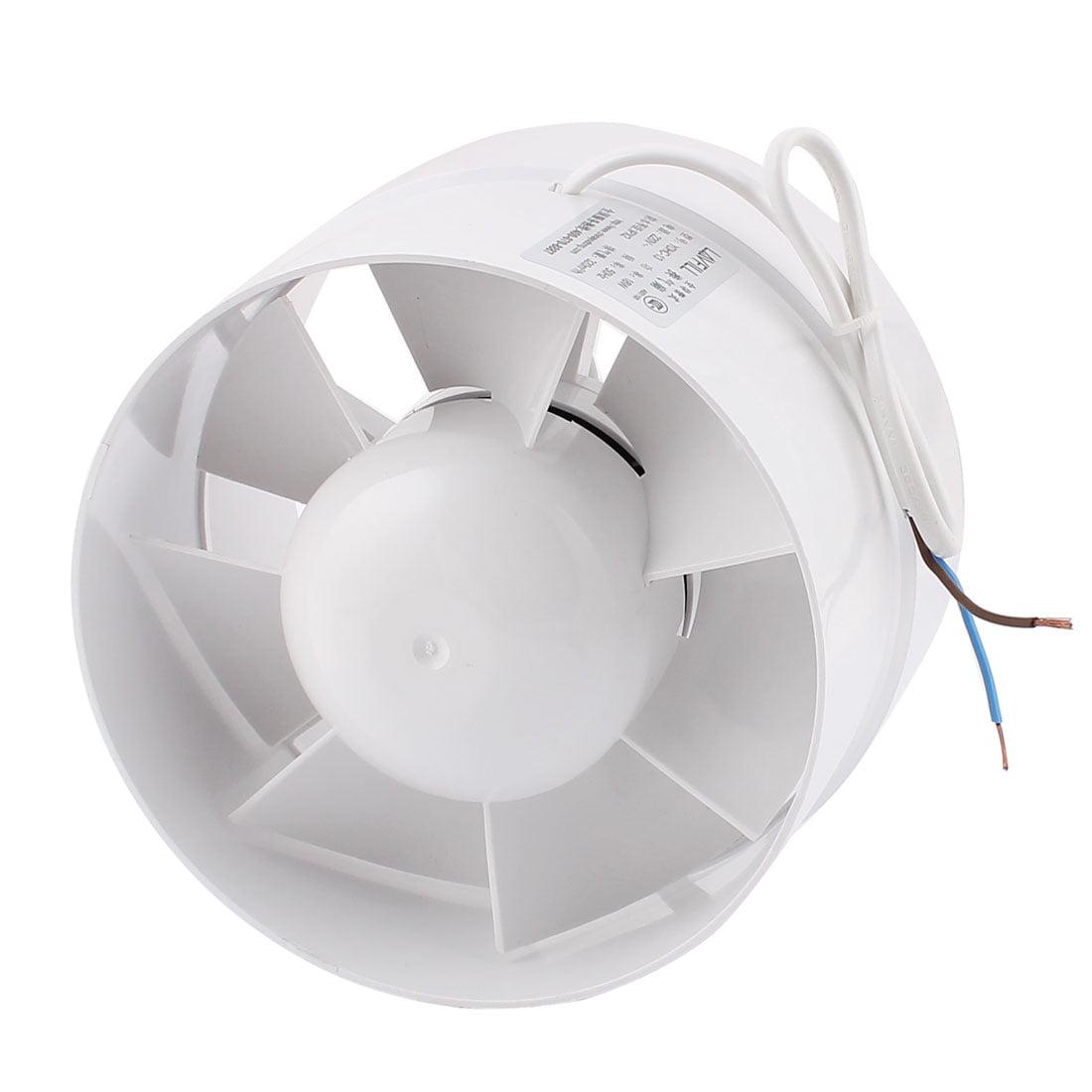 ac 220v 18w kitchen bathroom window exhaust fan ventilator 155x110mm white walmartcom - Bathroom Window Exhaust Fan