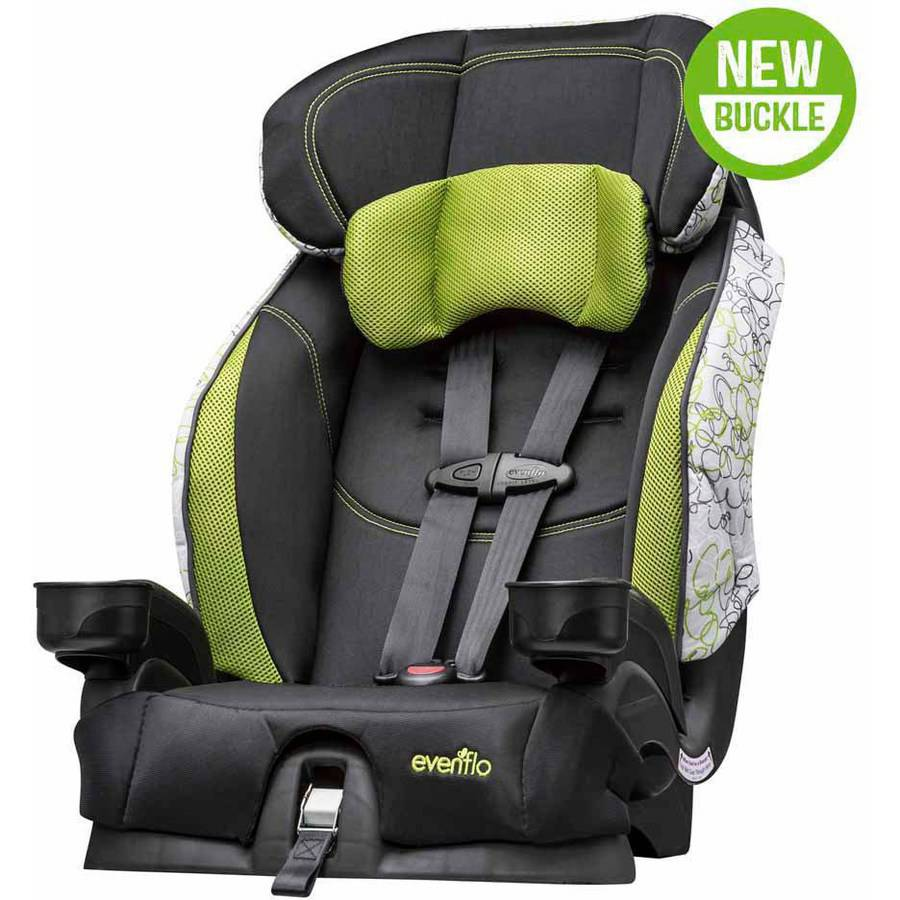 Evenflo Chase Select Harnessed Booster Car Seat, Dipsy Doodle