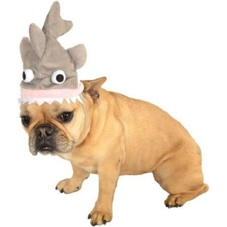 Grey Shark Animal Dog Cat Hat Funny Headpiece Pet Costume Accessory - Funny Halloween Cat Pics