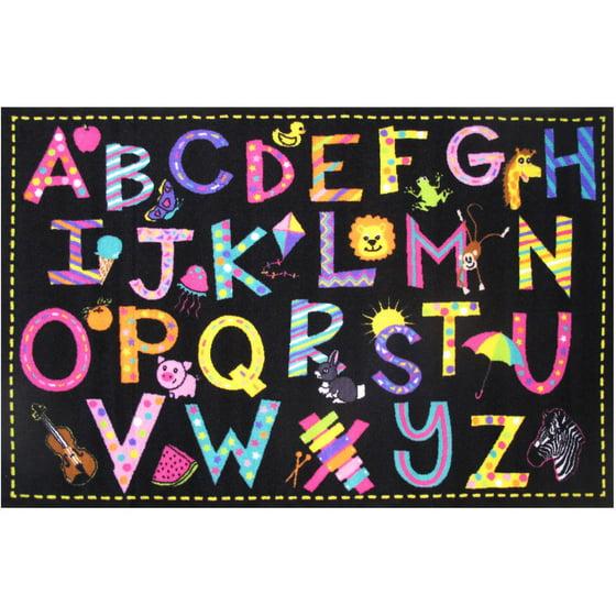 """Wholesale Classroom Rugs: Fun Rugs Fun Time A2Z Fun Kids Rugs 39"""" X 58"""" Rug"""