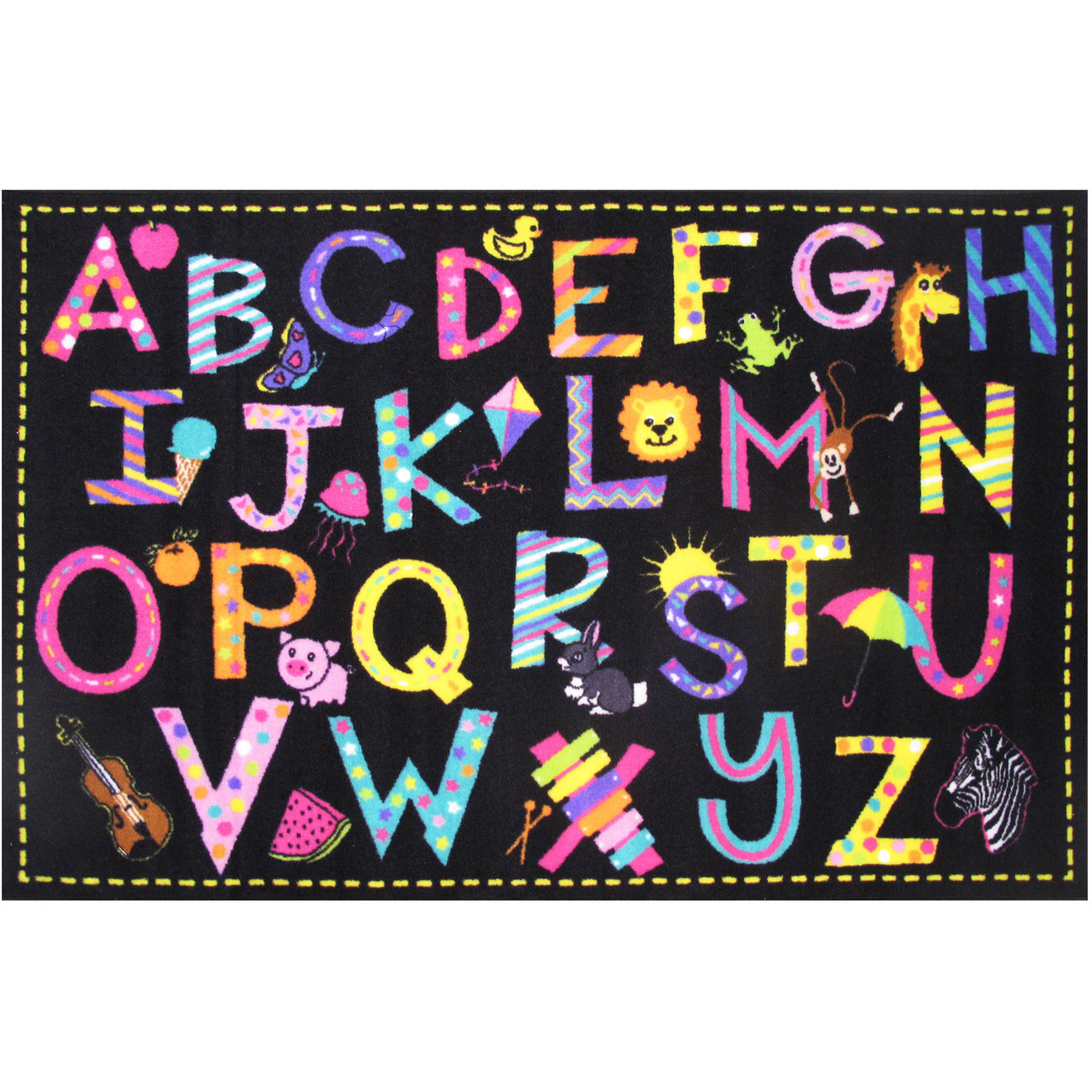 "Fun Rugs Fun Time A2Z Fun Kids Rugs  39"" x 58"" Rug"