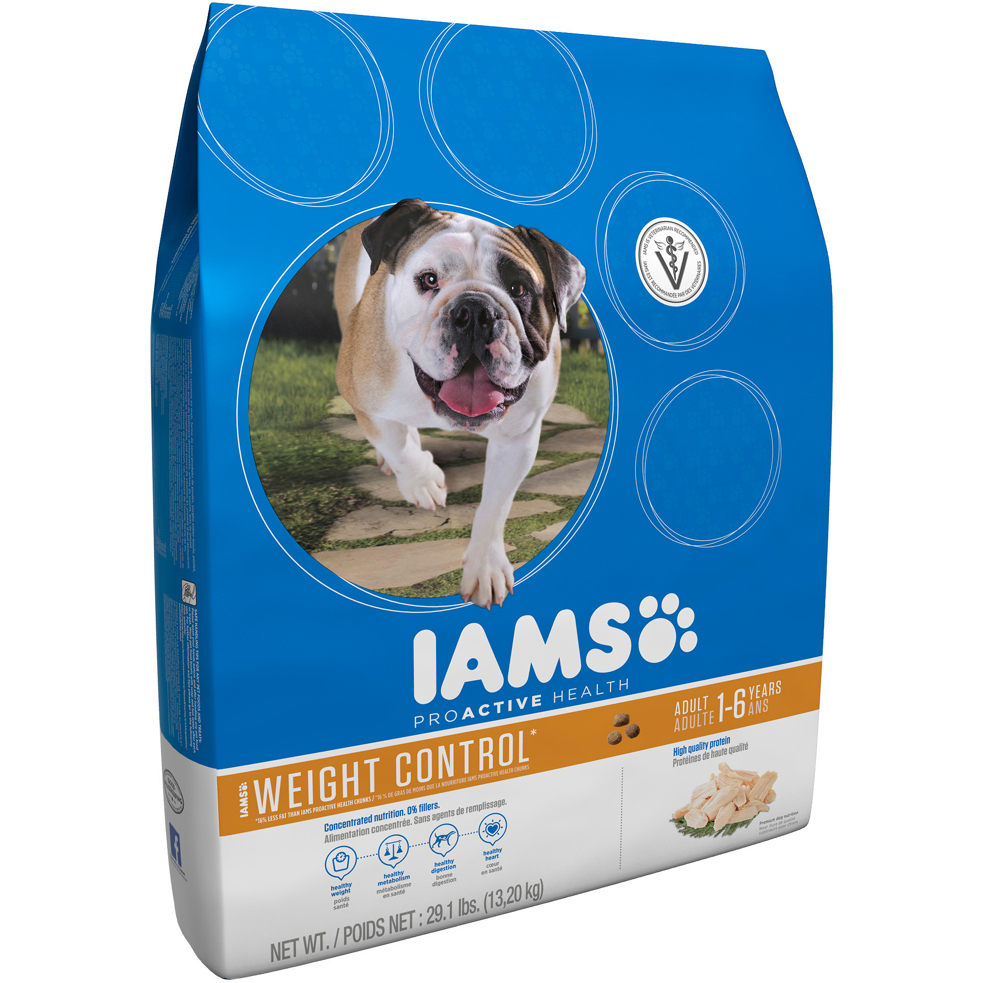 Iams ProActive Health Adult Weight Control Premium Dog Food 29.1 lbs