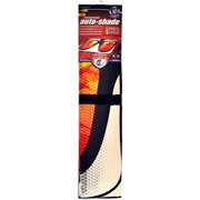 Auto Expressions Tropical Dreams Accordion Universal Windshield Shade, Orange