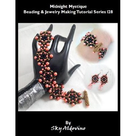 Midnight Mystique Beading & Jewelry Making Tutorial Series I28 - eBook - Mystique Tutorial