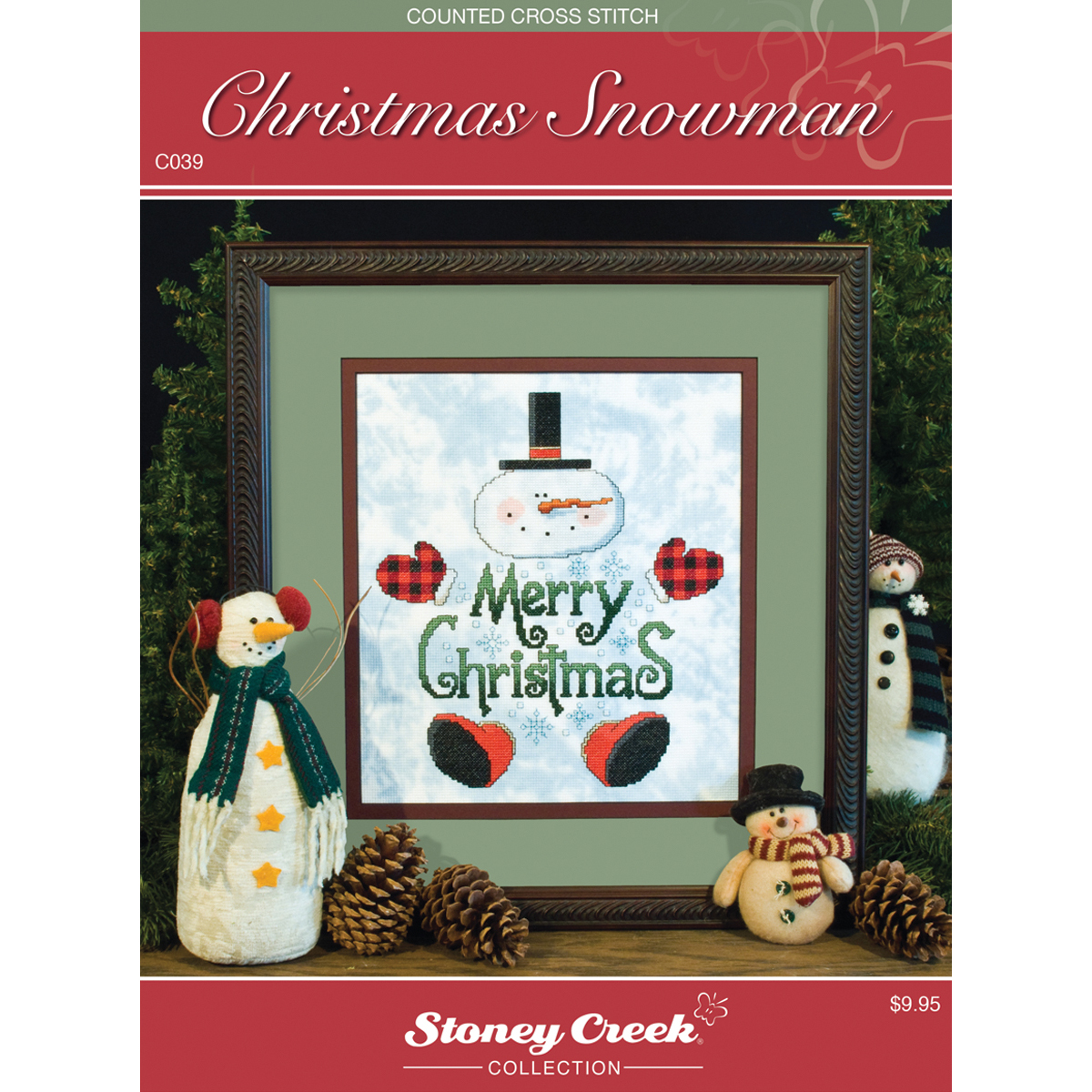Stoney Creek Chart Packs, Christmas Snowman