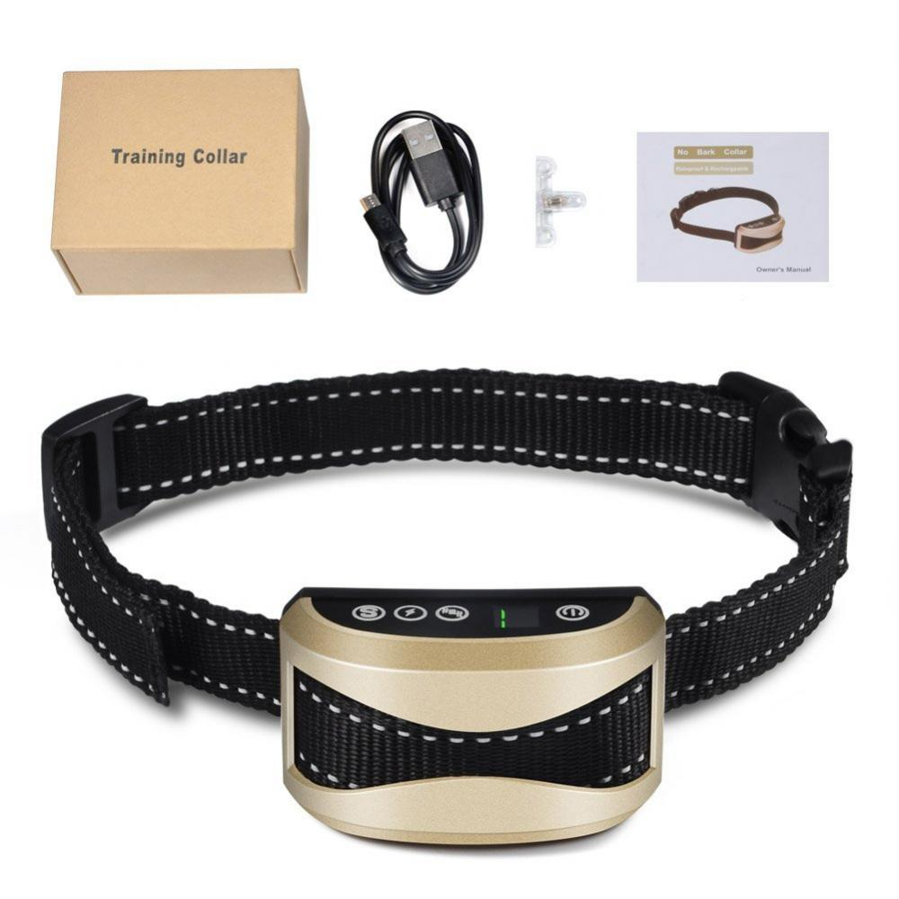 CHICIRIS Dog Bark Collar Anti Barking Dog Training System Harmless No Beep /Vibration